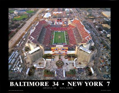 Superbowl XXXV Ravens-Giants at Tampa Bay
