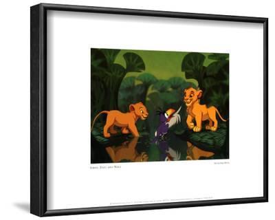 Simba, Zazu and Nala (The Lion King) - ©Disney