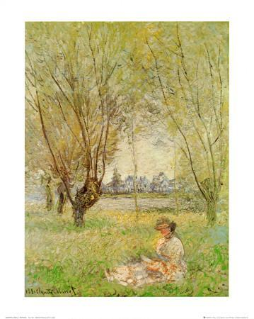 Woman Under the Willows
