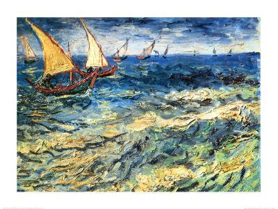 Seascape at Saintes-Maries, c.1888