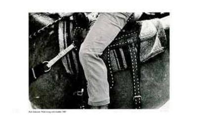 Rider`s Leg with Saddle