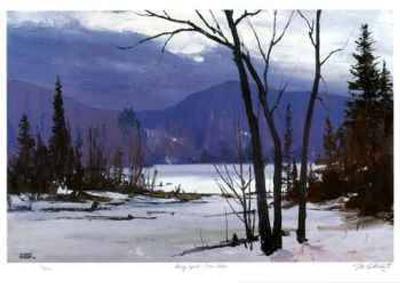 Early April - Loon  Lake