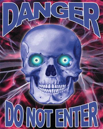 Danger Skull (Do Not Enter)