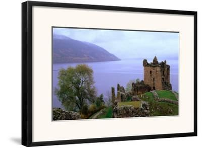 Castle Urquhart Overlooking Loch Ness, Loch Ness, United Kingdom