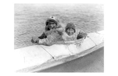 Two Children on the Water