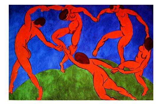 Dance, 1910 Giclee Print by Henri Matisse at AllPosters.com