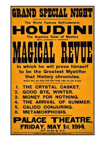 Harry Houdini, Magical Review