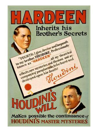 Harry Houdini's Will
