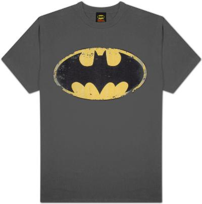 Batman - Distressed Shield