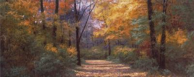 Autumn Road Panel