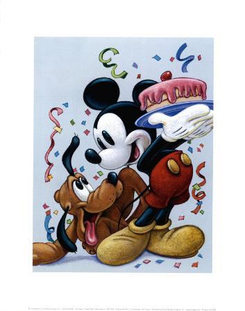 Mickey and Pluto: a Celebration with Friends