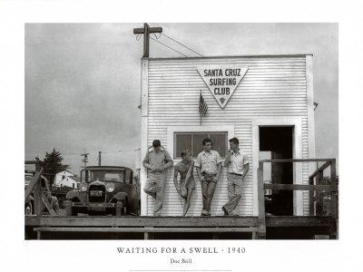 Waiting for a Swell, 1940