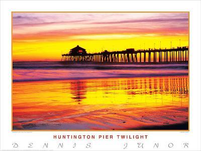 Huntington Pier Twilight