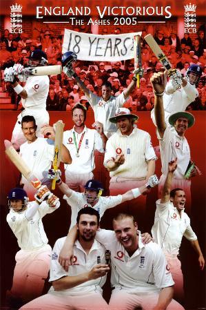 Cricket - England Victorious