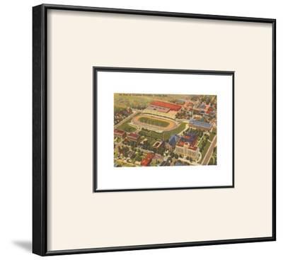Aerial View of Creighton University, Omaha,  Nebraska