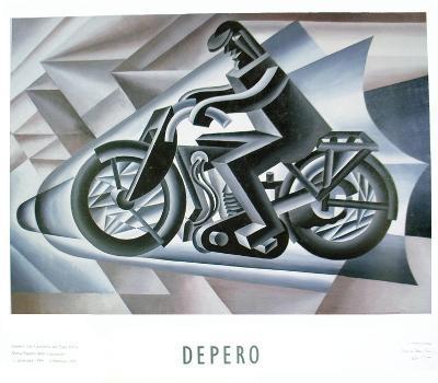 Motorcyclist, 1923