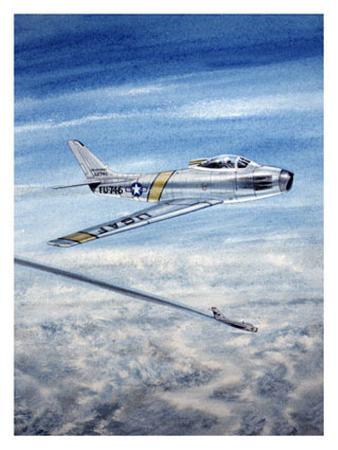 F-86 USAF Saber Jet Aviation
