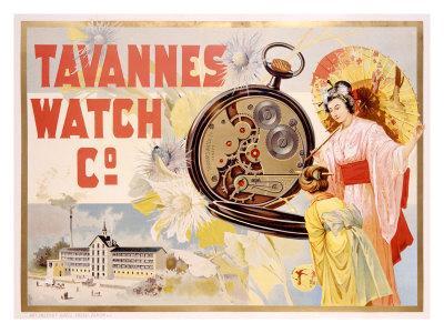 Tavannes Watch Company, Geisha