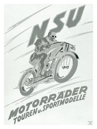 NSU Touring Sport Motorcycle
