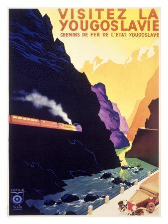 Visit Yugoslavia by Railway