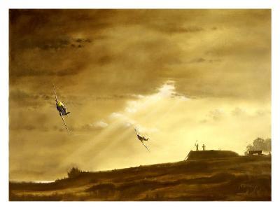 RAF Spitfire ME109 Dog Fight