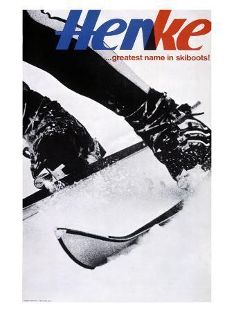Henke Downhill Ski Boots