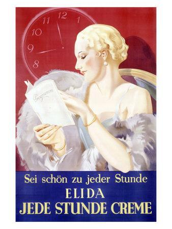 Jede Stunde Cosmetic Facial Creme