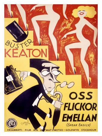 Buster Keaton, Speak Easily