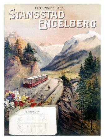 Stansstad Engelberg Railway Train