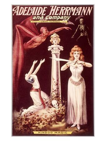 Adelaide Herrmann Spooky Magic