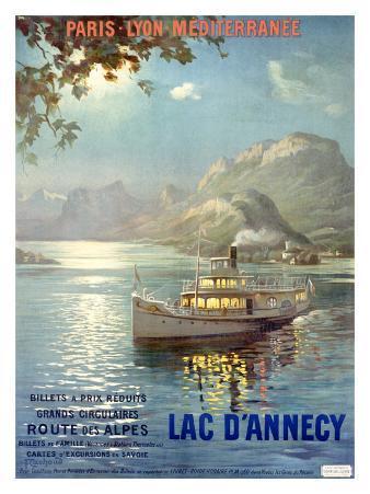 PLM Railroad, Lake d'Annecy