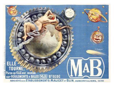 Mab Universe Ball Bearing