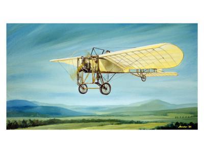 Pre-WWI Bleriot Monoplane