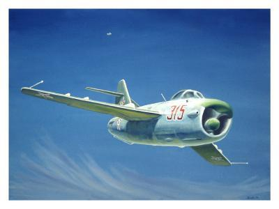 MIG 15 Fighter Jet