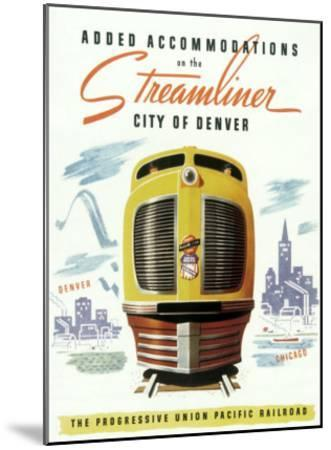 Union Pacific, Streamliner Denver
