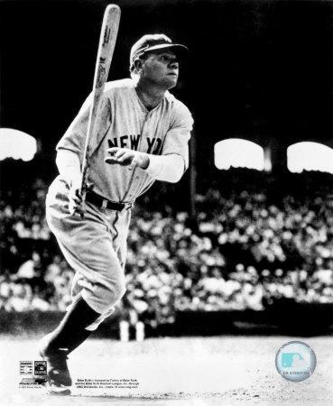 Babe Ruth - Batting Action