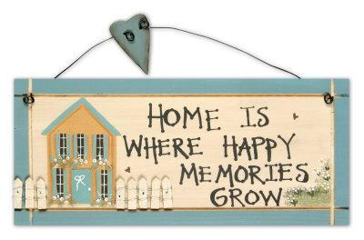 Home Is Where Happy Memories Grow