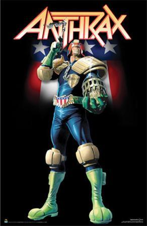 Anthrax- Judge Dredd