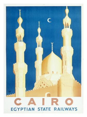 Cairo Egyptian Train Railway
