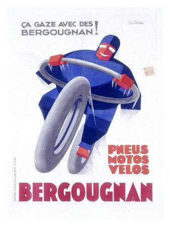 Bergougnan Motorcycle Tire