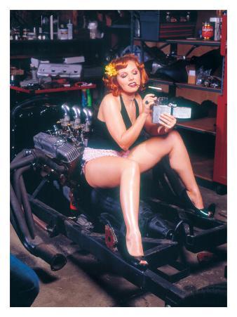 Pin-Up Girl: Hot Rod Cigarette