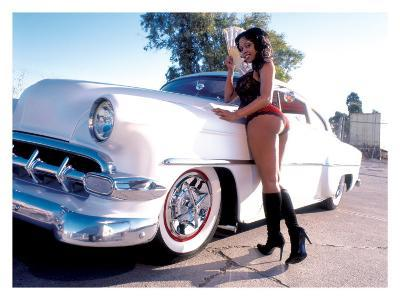 Pin-Up Girl: 1951 Chevy Chop Top