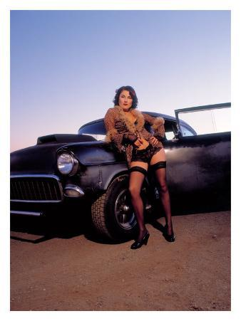 Pin-Up Girl: 1955 Chevy Street Rod