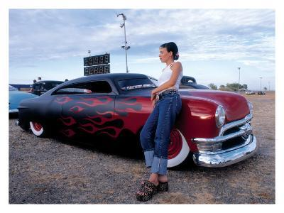 Pin-Up Girl: Merc Chop Top Flames