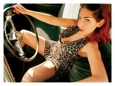 Pin-Up Girl: Front Seat Leopard