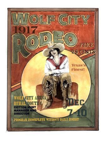 Wolf City Rodeo, 1917