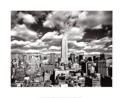 New York, New York, Sky Over Manhattan