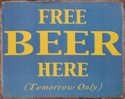 Free Beer Here
