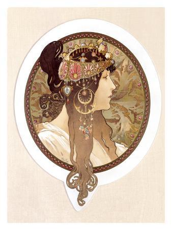Byzantine Brunette, 1897