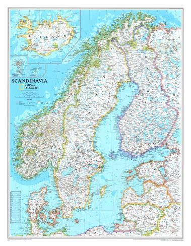 photo about Scandinavia Map Printable named Map of Scandinavia
